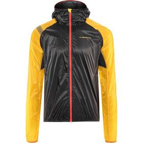 La Sportiva Blizzard Windbreaker Løbejakke Herrer, gul/sort